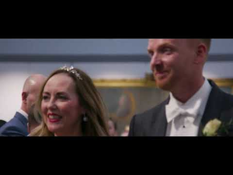 Wolverhampton Weddings - Piers & Donna wedding ceremony at the Wolverhampton Art Gallery, March 2020