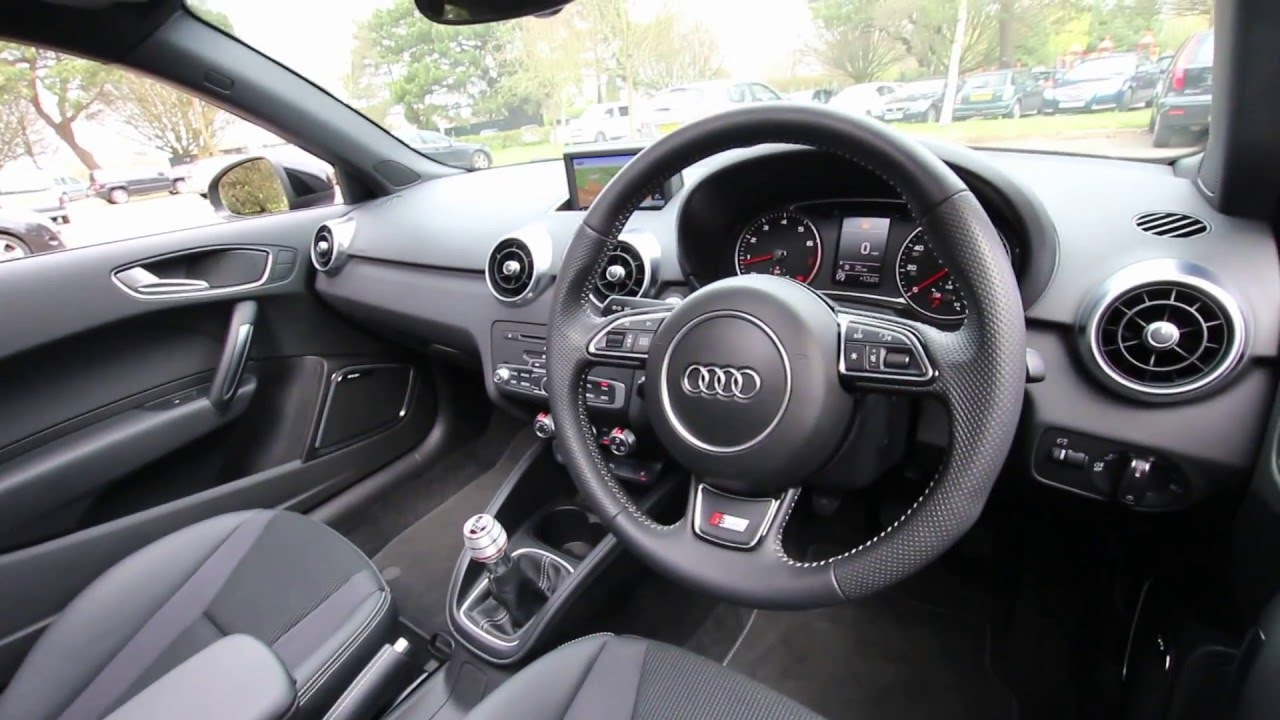 audi a1 s line black edition 1.4 tfsi - www.promotors.co.uk - youtube