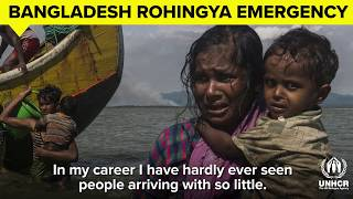 UN Refugee Chief calls for more help for Rohingya refugees