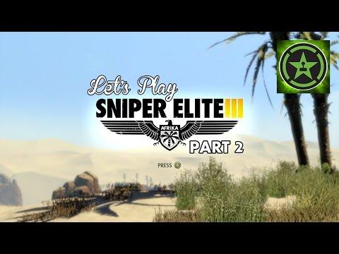 Let's Play – Sniper Elite 3 Part 2