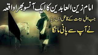 Waqya Imam Zain ul Abdeen ! Heart Touching Incident Of Imam Zain Ul Abdeen And Ibn-e-Zyad
