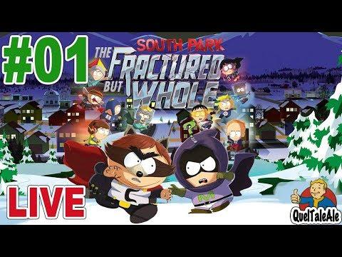South Park Scontri Di-Retti - Gameplay ITA - Walkthrough Live #01 - Inizia  l'avventura
