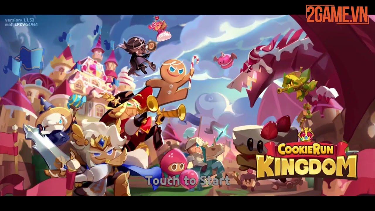 [Trải nghiệm] Cookie Run: Kingdom – game nhập vai xây dựng căn cứ đầy màu sắc
