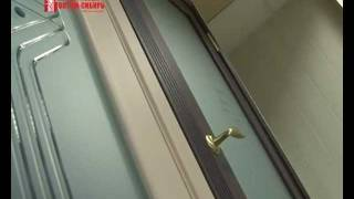 видео двери со стеклом