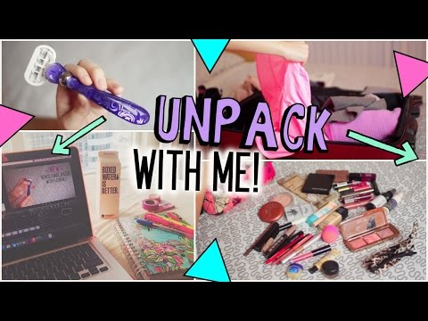 Unpack With Me → Beauty, Essentials & Clothes!