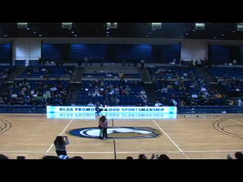 Marriage proposal fail basketball game