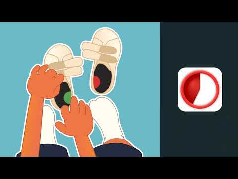 Thumbnail Mets tes chaussures avec Ben le koala - Avec repère rouge et vert