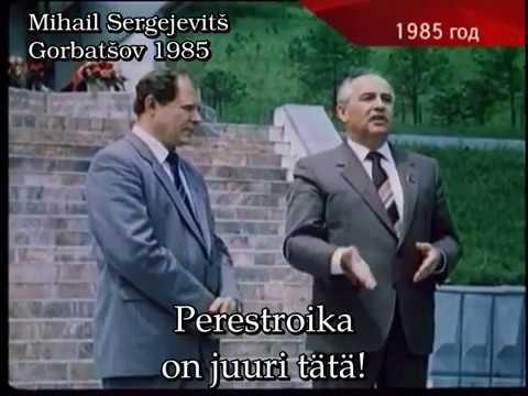 Seitsemän sekuntia Michail Gorbatsevia.