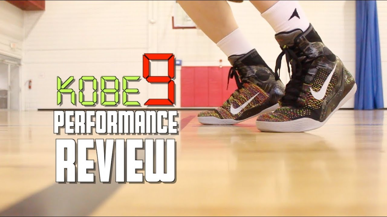 298b71c250f8 Nike Kobe 9 Elite Performance Review - YouTube
