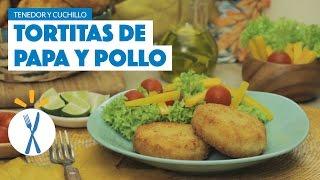 ¿Cómo preparar Tortitas de Papa y Pollo? - Cocina Fresca