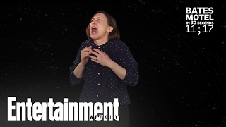 Vera Farmiga Explains 'Bates Motel' In 30 Seconds | Entertainment Weekly