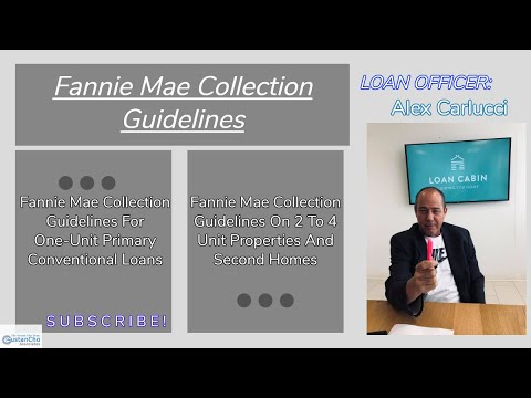 Fannie Mae Collection Guidelines On Conventional Loans | 2019 Bank Statement Mortgages
