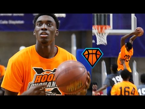 Nassir Little CRUSHES 9 Dunks At The HoopExchange Fall Festival!! | 2018 Wing Is The REAL DEAL
