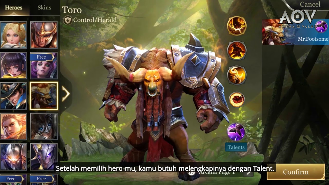 Beginners Guide Team Structure And Talent Garena Aov Arena Of Valor