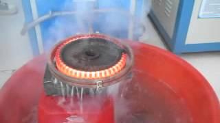 индукционные нагревательные  оборудования из Китая(Преимущества среднечастотных установок Быстро нагревают металлические заготовки в глубину, используют..., 2014-10-20T06:37:02.000Z)