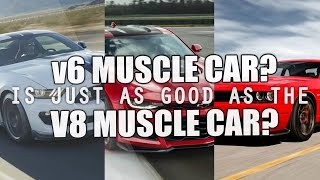 V6 Muscle vs V8 Muscle (Fake vs Real?)
