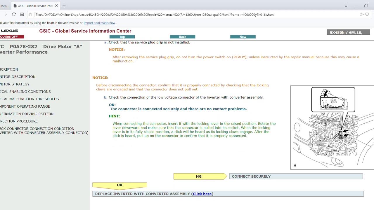 rm1260u 2009 lexus rx450h gyl10 series service and repair manual free download [ 1280 x 720 Pixel ]