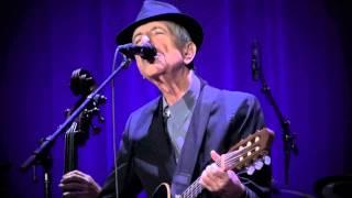 Leonard Cohen, Hey thats no way to say goodbye, Rotterdam, 18-09-2013