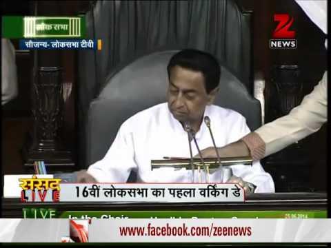 Modi, Advani and Sonia take oath as Lok Sabha members