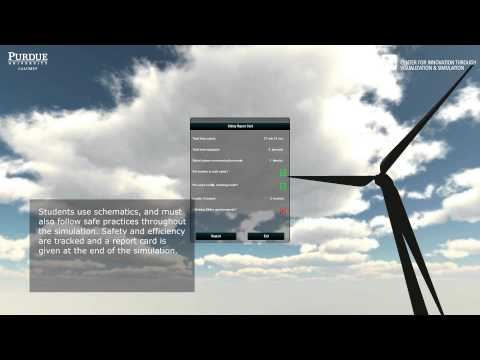 Mixed Reality Simulators for Wind Energy Education