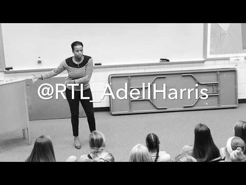 Adell Harris at Maiden High School in NC