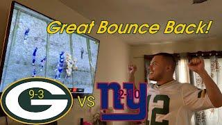 Packers vs Giants Reaction!