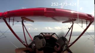 OBX Biplane air tour with Jerod and Megan over the Outer Banks Thumbnail