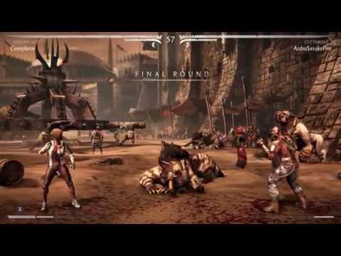 Mortal Kombat X (PS4) Online Casuals - Compbros (H. Cassie) vs. AnbuSasukePro (C. Kano) - 4/16/15