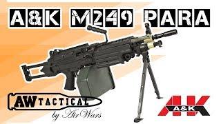 Страйкбольный пулемет A&K M249 PARA (airsoft) A&K-AEG-03