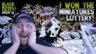 Holy Crap! Epic Free D&D Miniatures Score! Haul Unboxing (Black Magic Craft Episode 026)