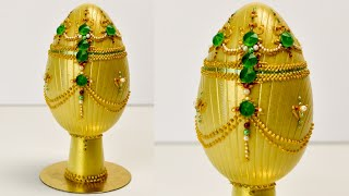 """""""Indian gold"""" chocolate egg - fanciest Easter eggs ever 3/4"""