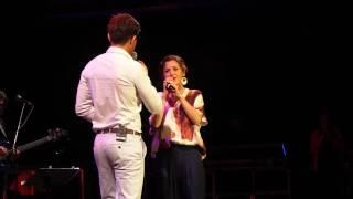 Concert 2016 Enfant Star et Match, duo Tina Arena et Vincent Niclo