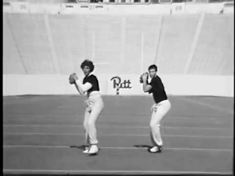 Dan Marino and Jon English Practice Pass Technique