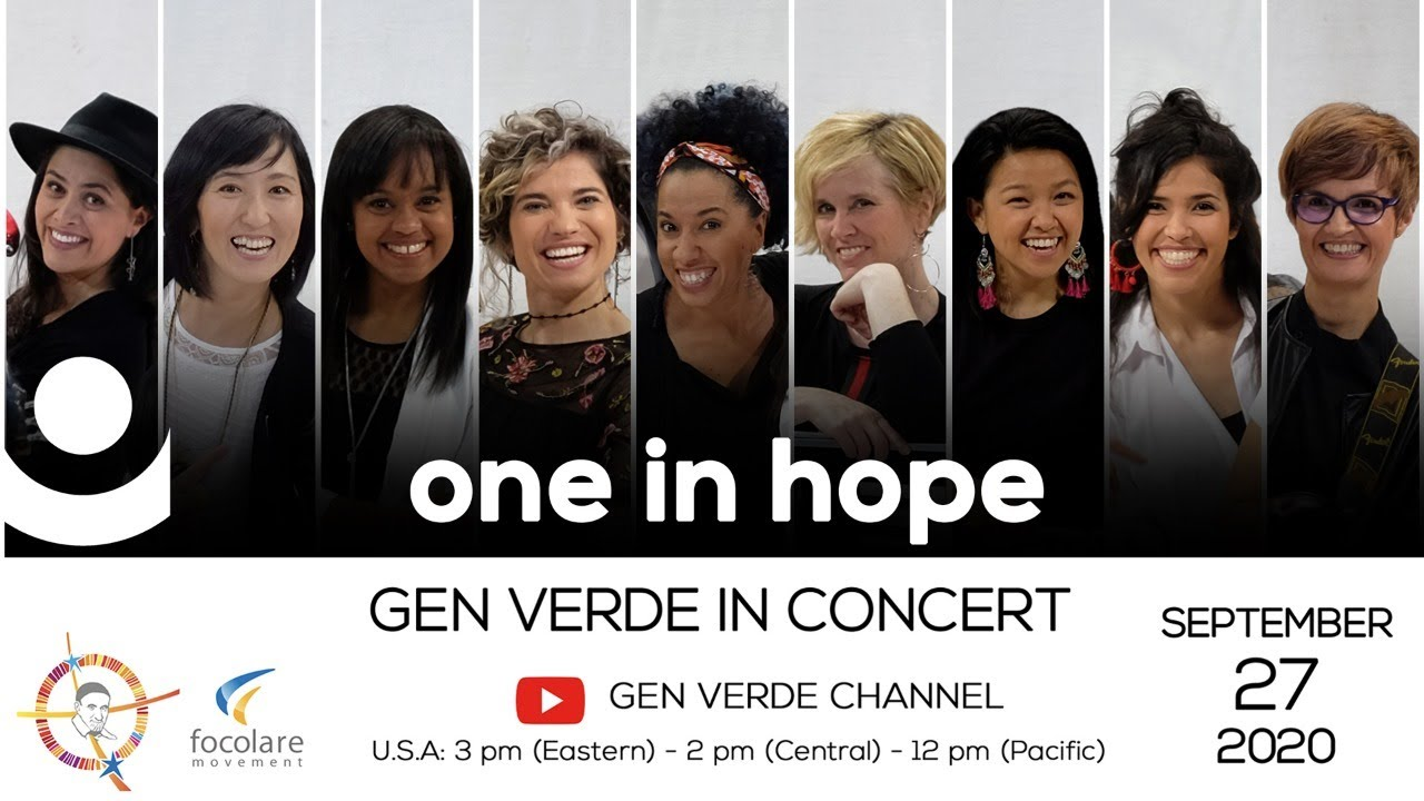 "Gen Verde Online Concert : ""One in Hope"" - YouTube"