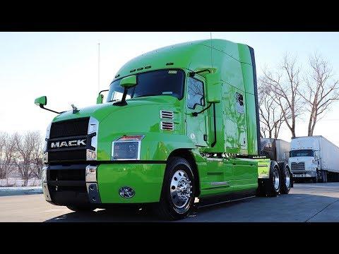 2020 Mack Anthem Lone Mountain Truck Leasing Youtube
