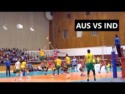 Download Australia vs India Volleyball friendly match 2019