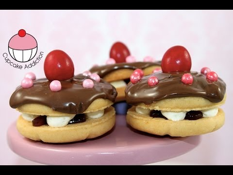 Make Mini Cake Cookies! Perfect for Topping Cakes and Cupcakes - By Cupcake Addiction