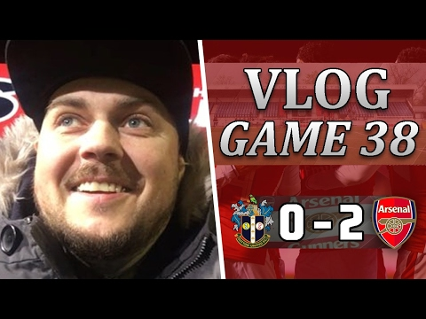 Sutton United 0 v 2 Arsenal | We Got The Job Done And Move On | Matchday Vlog | Game 38