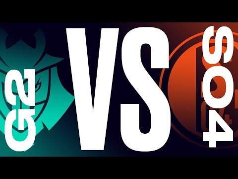 G2 Vs. S04 - Week 8 Day 2   LEC Summer Split   G2 Esports Vs. Schalke 04 (2021)