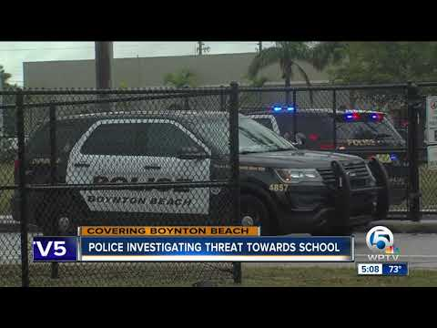Police: Threatening phone call received at Congress Middle School in Boynton Beach