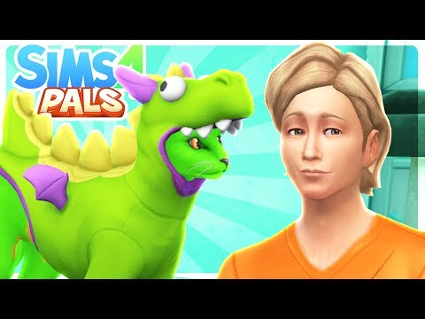 FRANK JOINS THE FAMILY!!  Sims 4 Pals