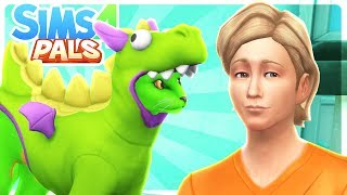 FRANK JOINS THE FAMILY!! - Sims 4 Pals