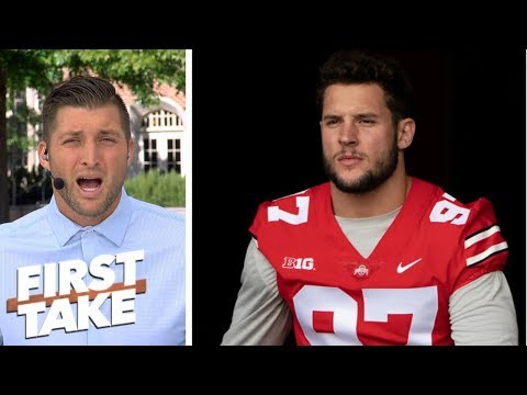 Tim Tebow delivers passionate speech on Nick Bosa withdrawing from Ohio State | First Take