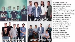 Sponge Cola, Parokya ni Edgar, Silent Sanctuary, Kamikazee Greatest Hits OPM Playlist 2018