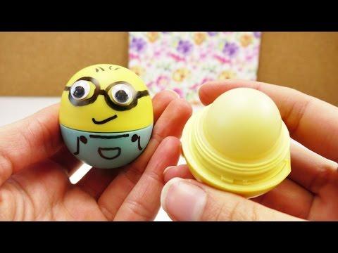 EOS Lipbalm DIY | Minion EOS selber machen | Super süße Dekoideen für den EOS | Schnell & einfach