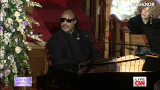 "Stevie Wonder ""Ribbon In The Sky"" (Reworked Whitney Houston Home Going Tribute)"