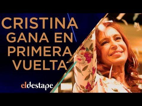 Cristina gana en primera vuelta y Macri se baja | El Destape con Roberto Navarro