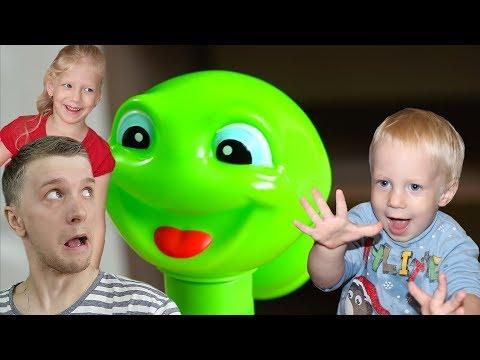 Игра Смешная Змейка любит потанцевать веселые игры и развлечения для детей и родителей