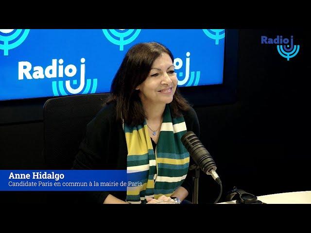 Invité du FORUM RADIO J : Anne Hidalgo