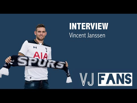 VINCENT JANSSEN FANS | Vincent Janssen talks about partnership with Harry Kane (Tottenham Hotspur)